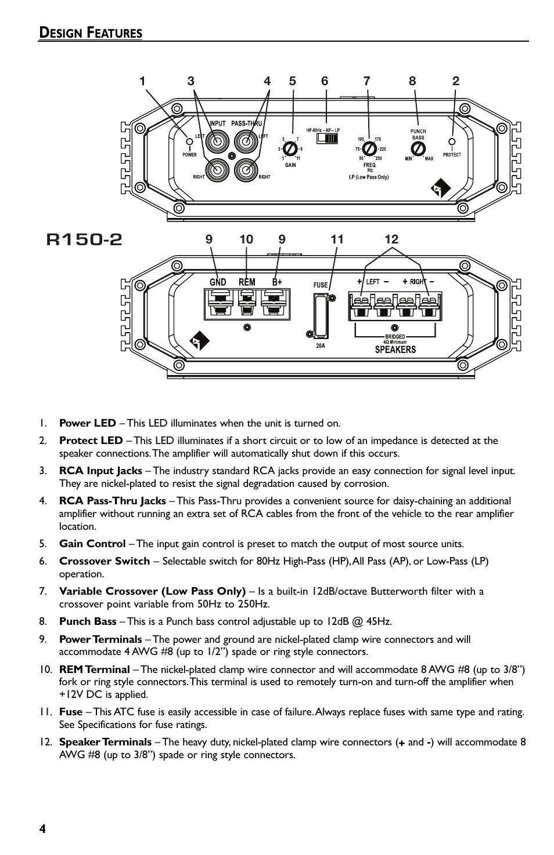 Rockford Fosgate P2 Manual Guide