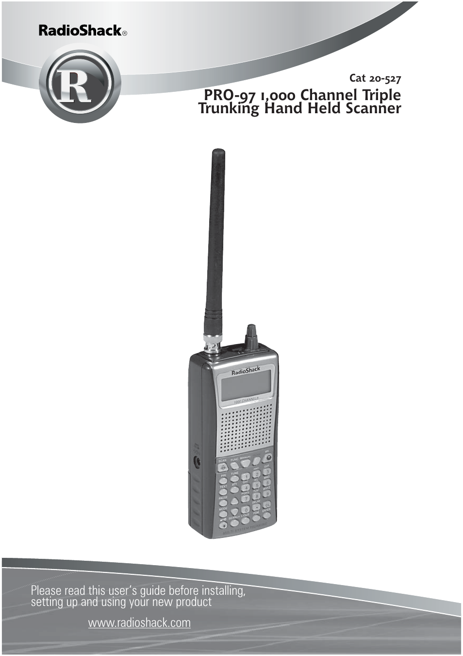 radio shack pro 97 1 000 user manual 88 pages rh manualsdir com Radio Shack Race Scanner Radio Shack Race Scanner