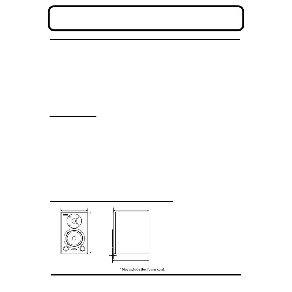Reference, Troubleshooting, Specifications | Roland DS-50A User