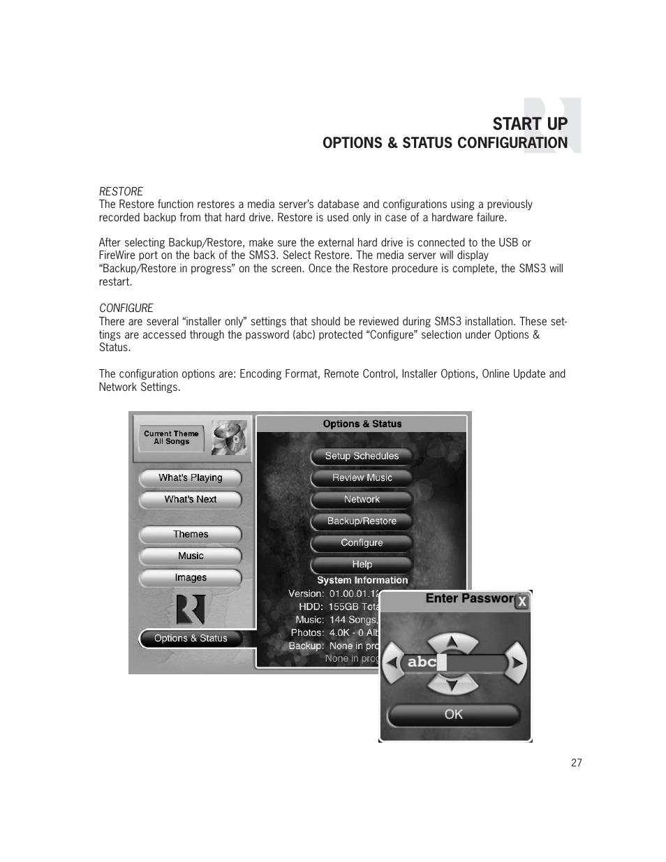 start up russound sms3 user manual page 27 36 rh manualsdir com