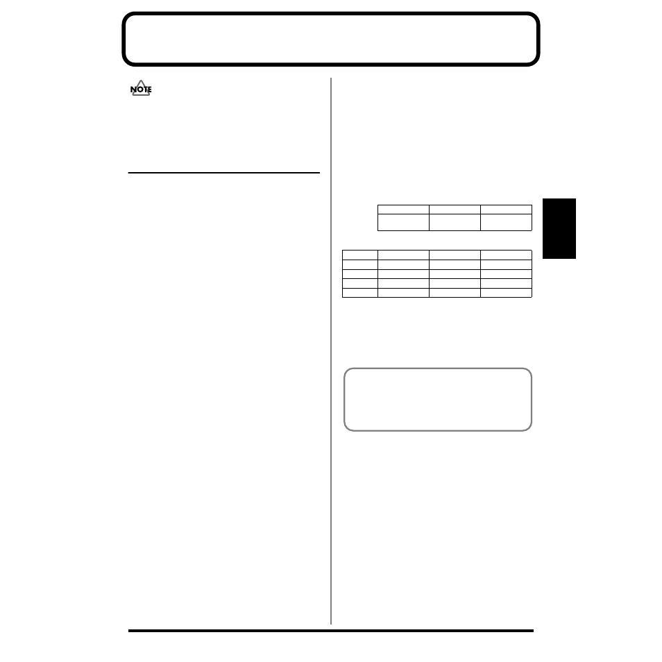 Chapter 3  sampling, Before sampling, Chapter 3   Roland SP-303 User