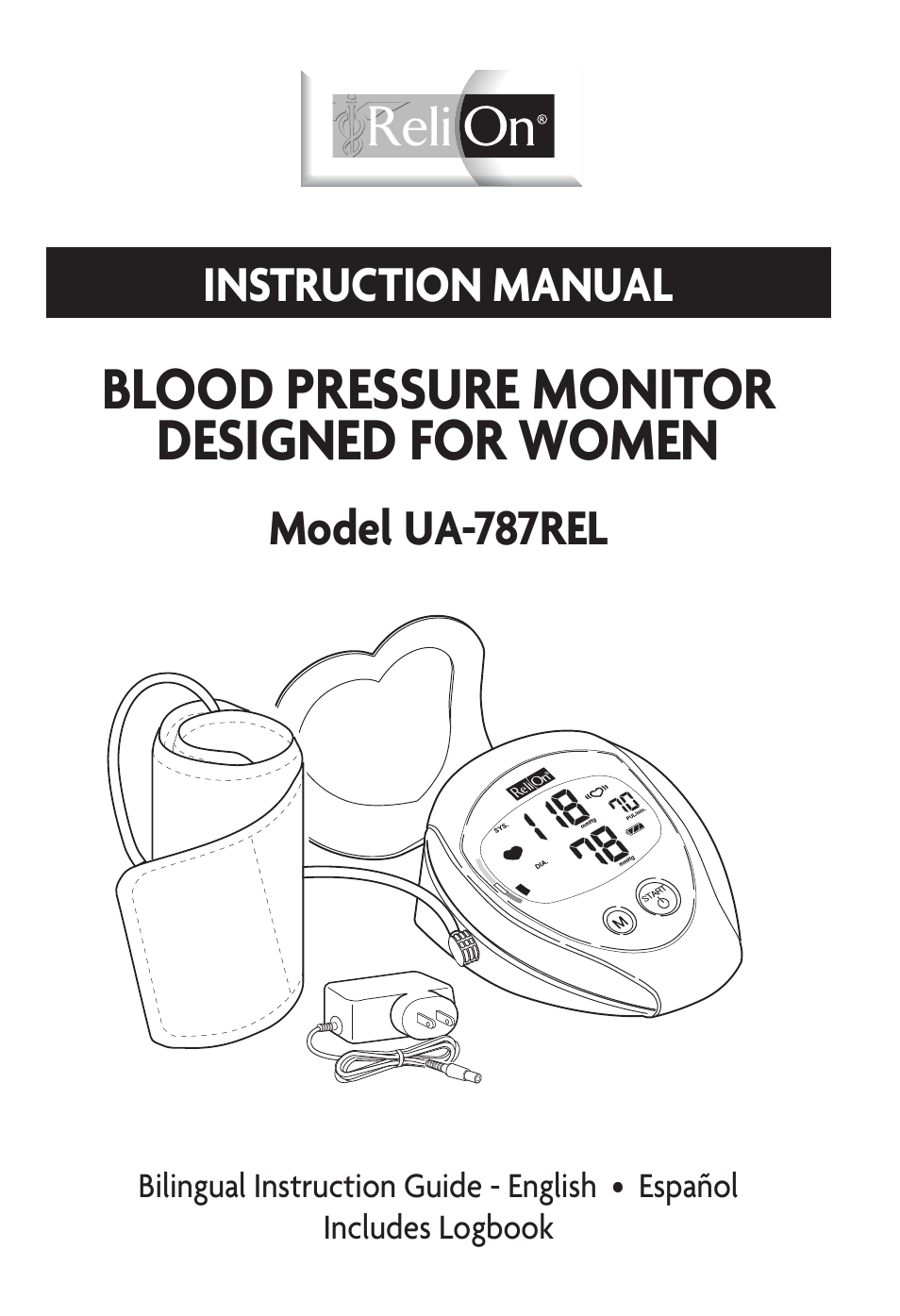 Relion Ua 787rel User Manual 64 Pages