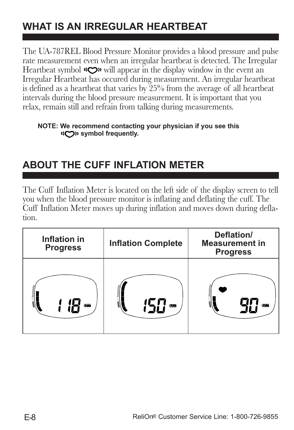 What Is An Irregular Heartbeat About The Cuff Inflation Meter