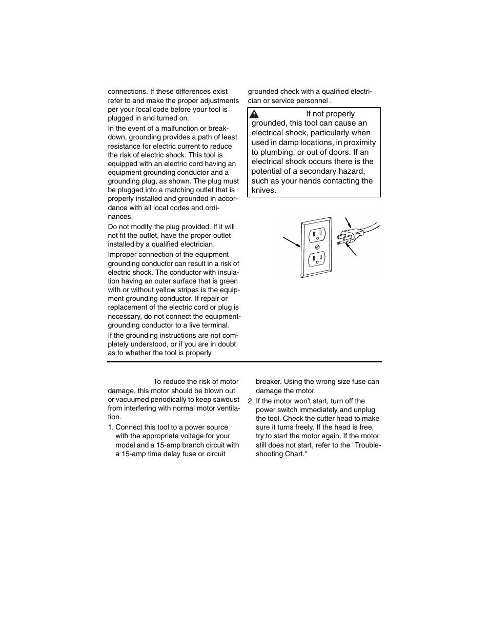 motor safety protection ridgid tp1300 user manual page 9 36 rh manualsdir com