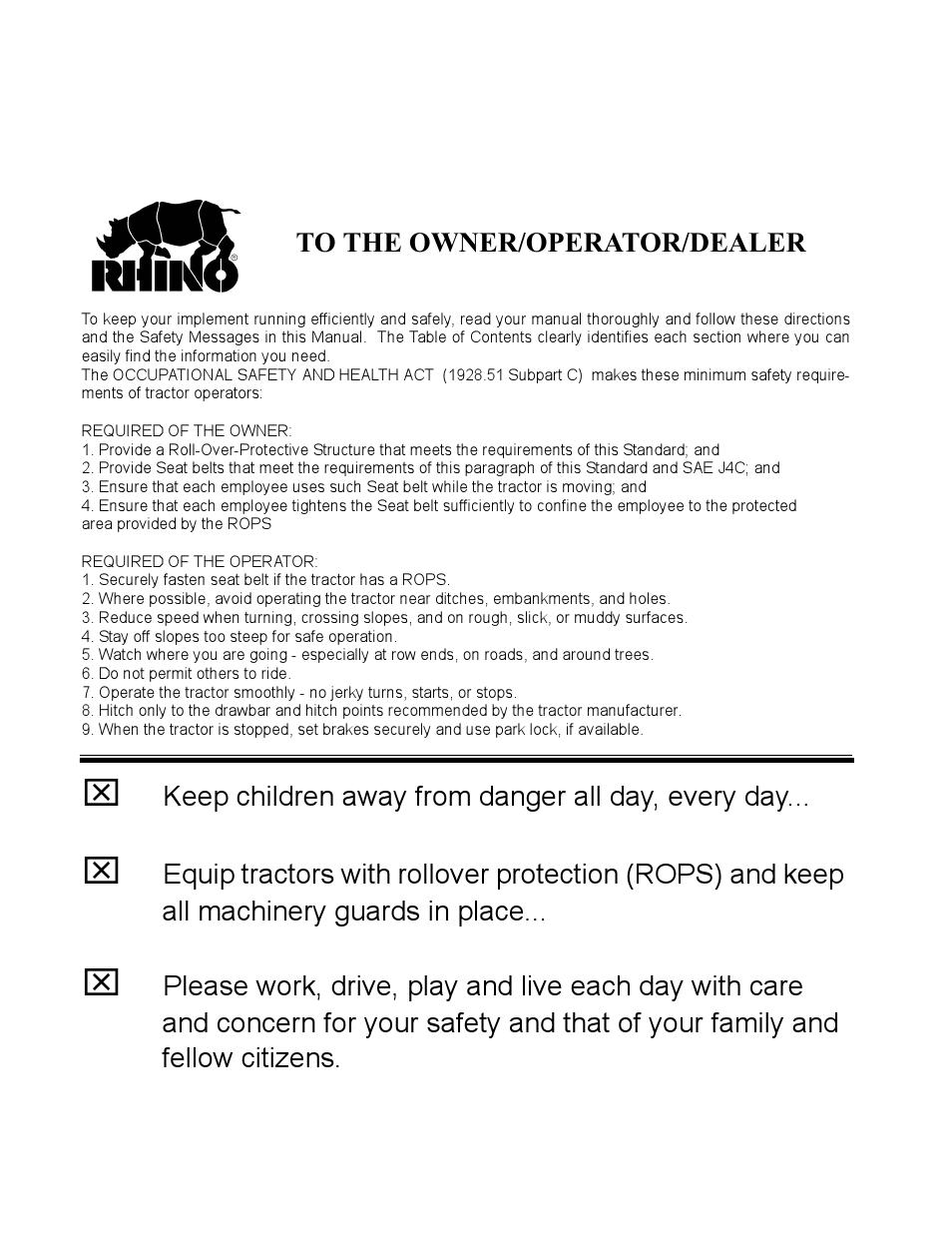 to the owner operator dealer rhino mounts 2408 user manual page rh manualsdir com PVS-14 Helmet Mount Rhino Mount Base Plate