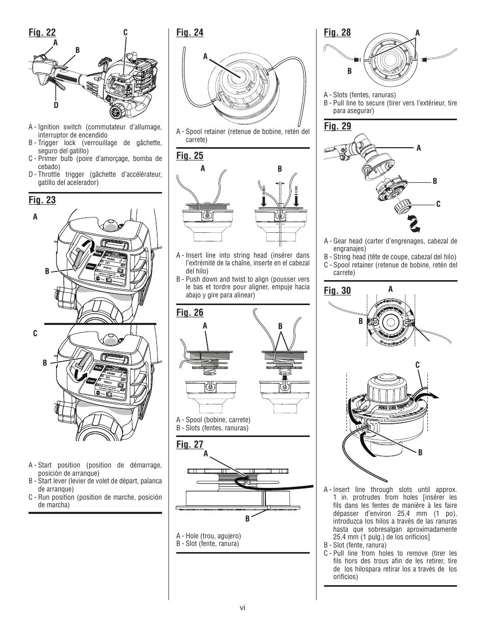 Ryobi Cs26 Diagram Great Installation Of Wiring 790r Spare Parts Diagrams Shoulders Shoreham User Manual Page 6 58 Original Mode Also For Ry26500 Rh Manualsdir Com Cs 26 Engine