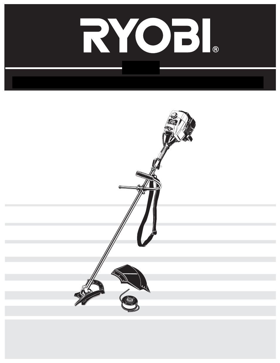 ryobi 790r user manual 76 pages rh manualsdir com ryobi 780r parts diagram ryobi gas trimmer 780r manual