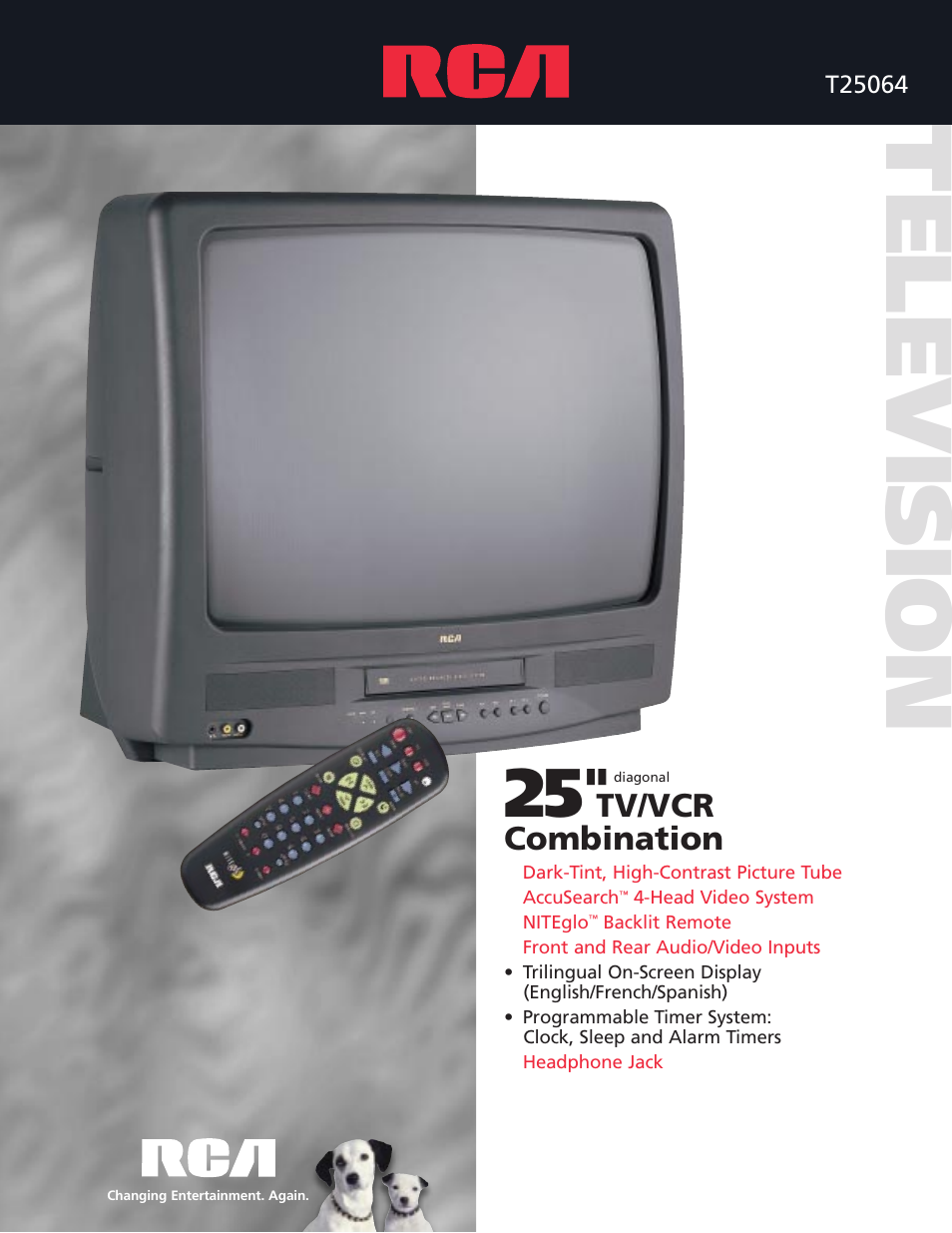 rca tv vcr combo user manual 2 pages rh manualsdir com rca 32 tv dvd combo manual rca 28 inch tv dvd combo manual