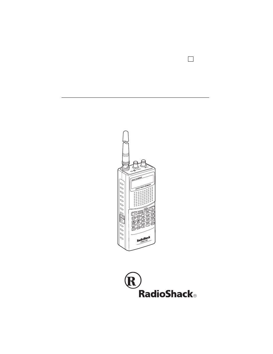 radio shack pro 89 user manual 64 pages rh manualsdir com Radio Shack Race Scanner Manual radio shack pro-89 race scanner manual