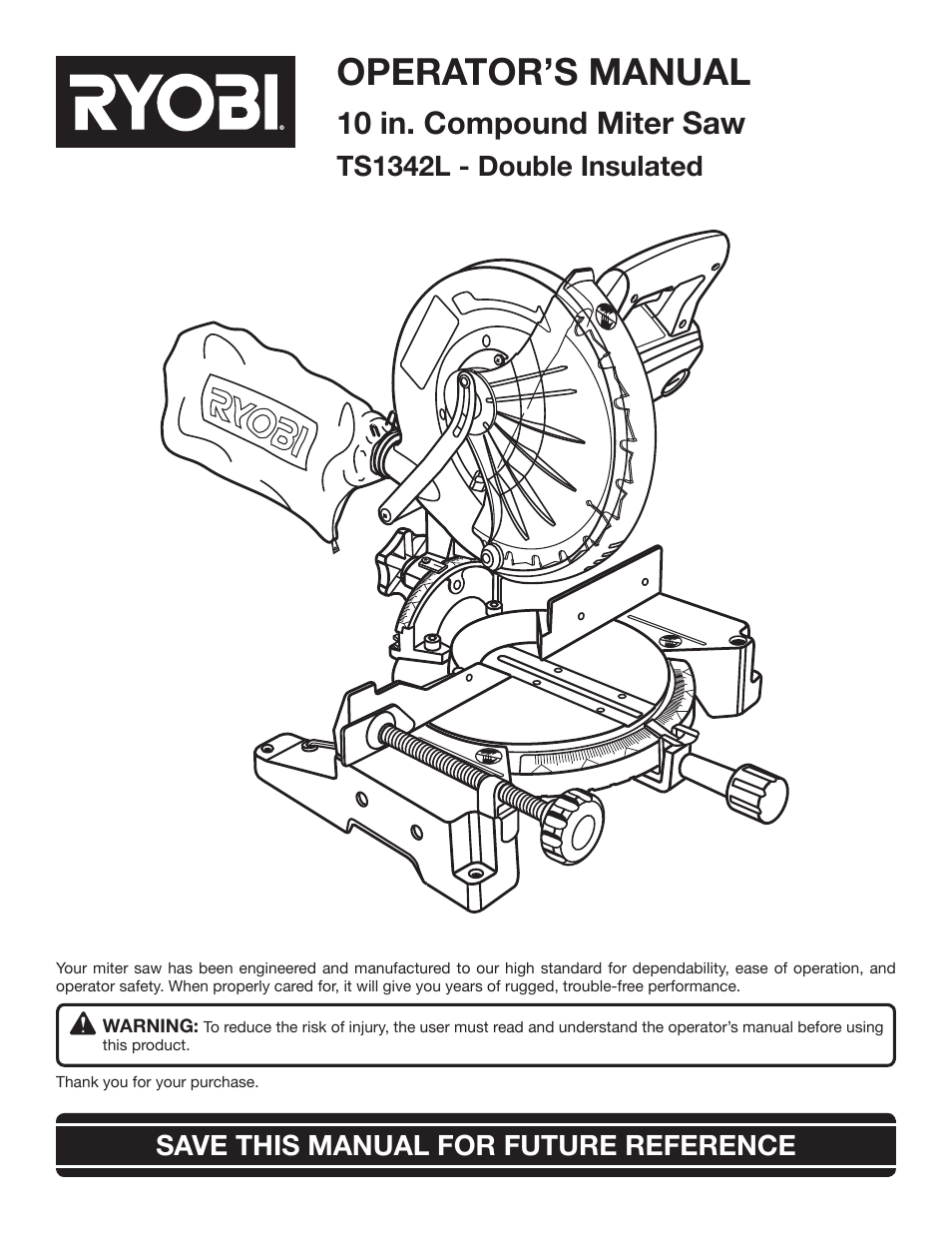 Ryobi s430 ry34441 user manual | 56 pages | also for: c430 ry34421.