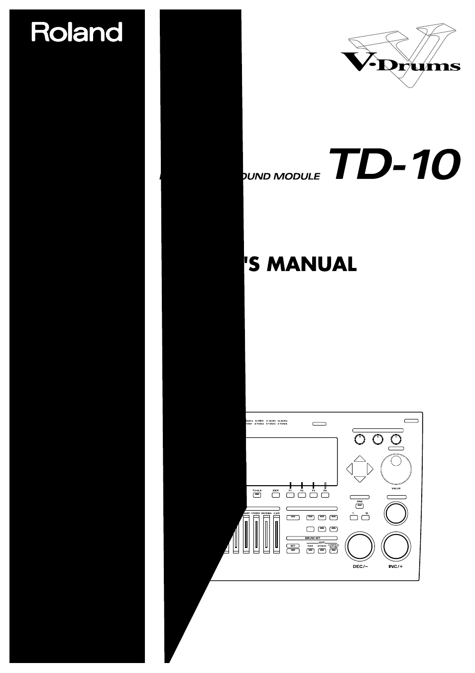 roland td 10 user manual 182 pages rh manualsdir com roland td-10 expanded tdw-1 manual roland td-10 module manual