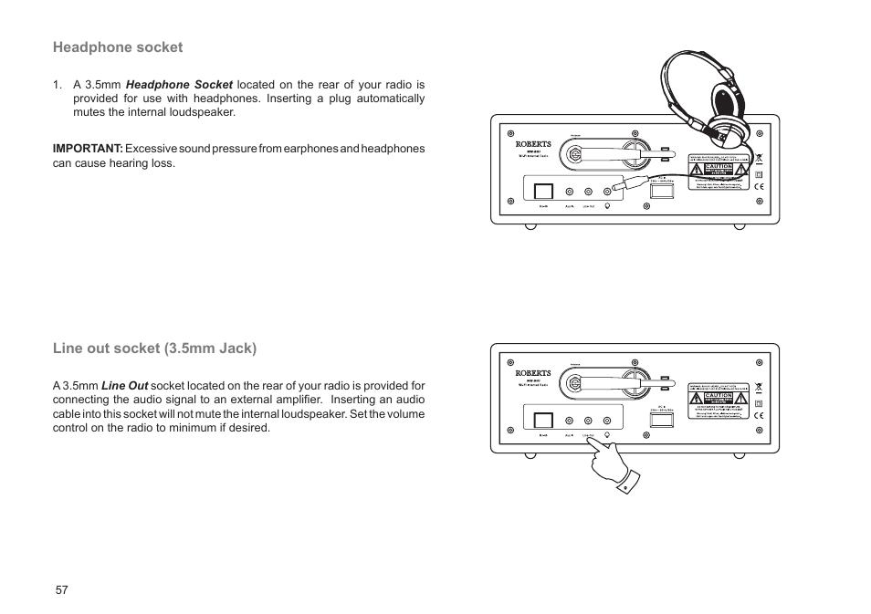 roberts radio wm201 user manual page 58 64 original mode rh manualsdir com roberts radio instruction manual roberts dreamtime radio user manual