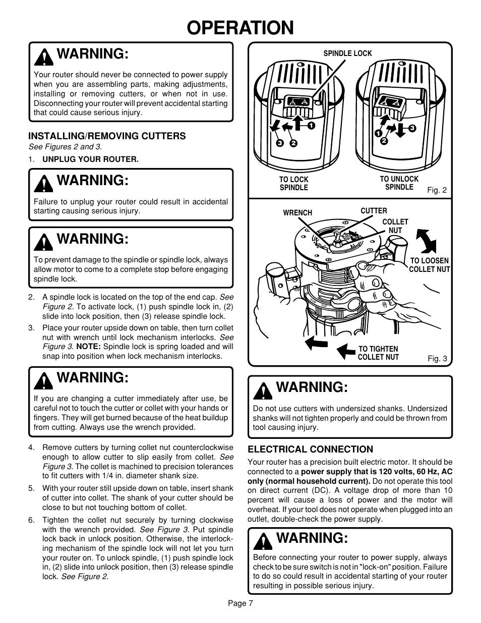 operation warning ryobi r160 user manual page 7 17 rh manualsdir com