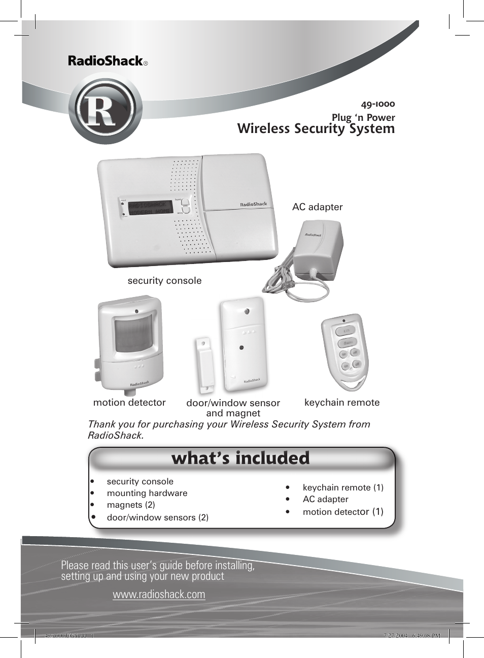 ge wireless motion sensor manual
