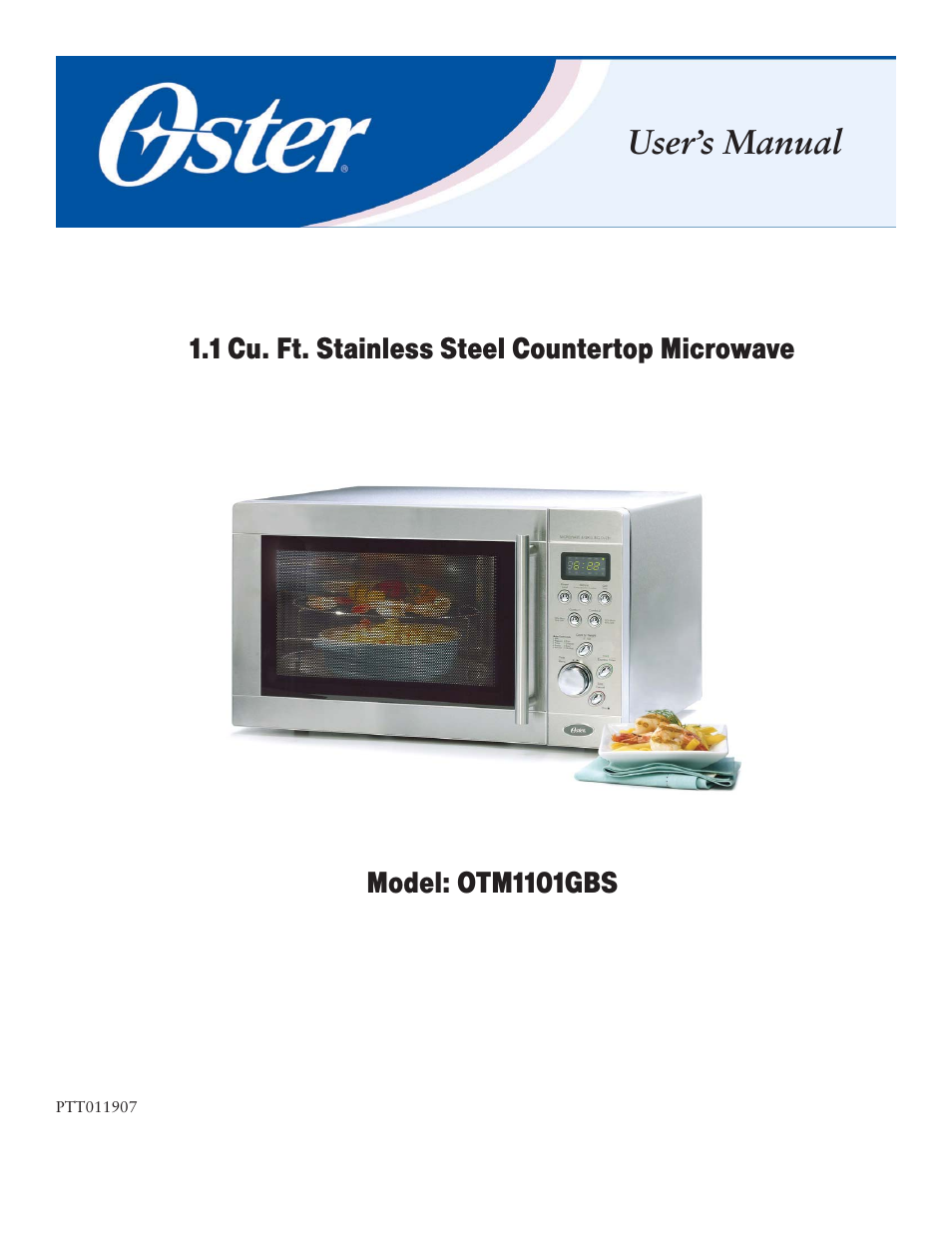 oster otm1101gbs user manual 15 pages rh manualsdir com oster microwave oven ogzj1104 manual oster microwave oven manuals
