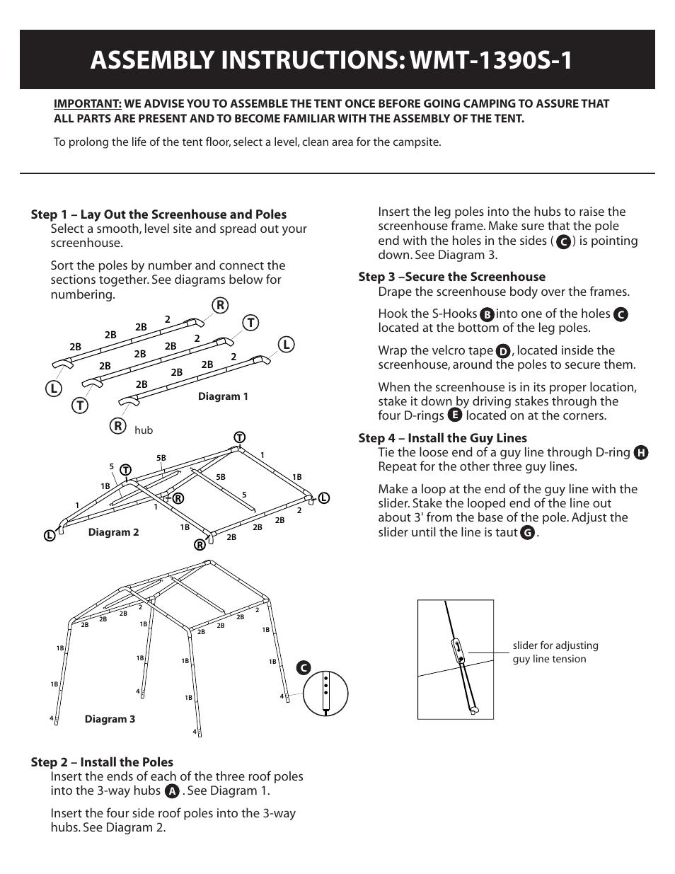sc 1 st  manualsdir.com & Ozark Trail WMT-1390S-1 User Manual | Page 4 / 7