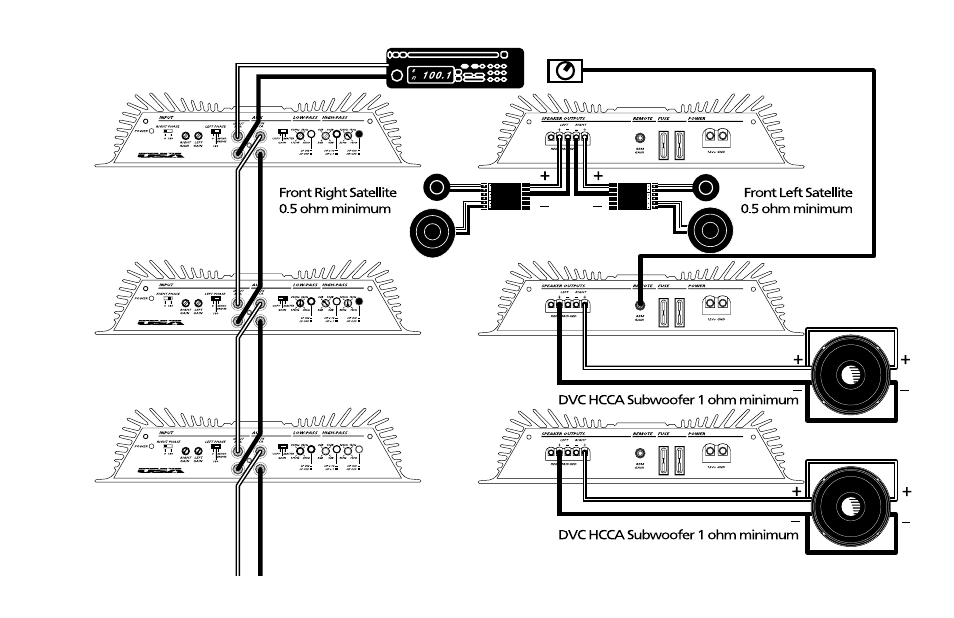 [DHAV_9290]  Orion Car Audio HCCA 225R User Manual   Page 18 / 56   Also for: HCCA 250R,  HCCA 275R, 250R & 275R   Orion Hcca 15 Wiring Diagram      Manuals Directory