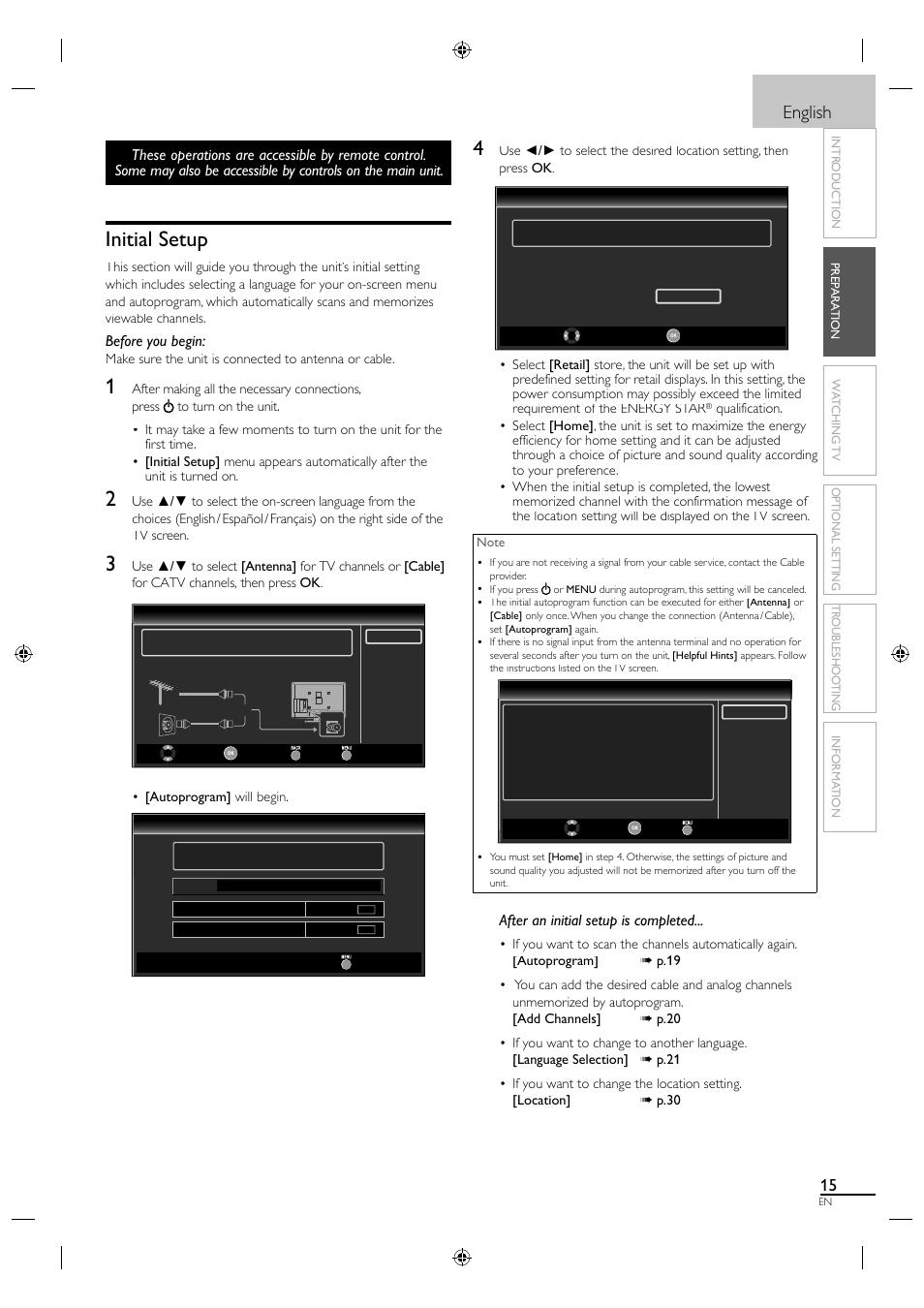 initial setup english before you begin sylvania lc320sl1 user rh manualsdir com HP Owner Manuals Customer Service Books