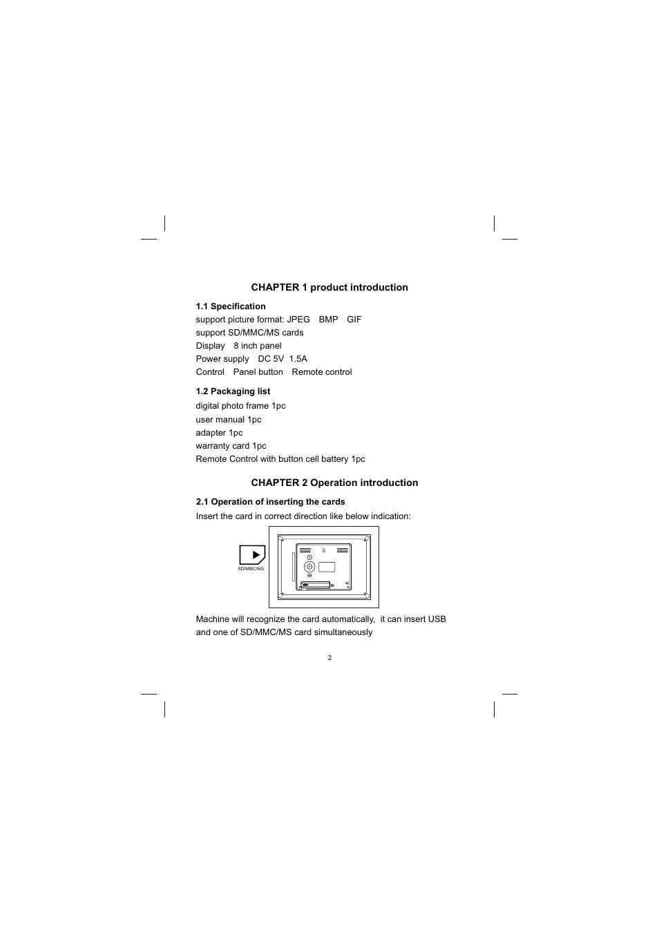 Sylvania SDPF833 User Manual | Page 3 / 12
