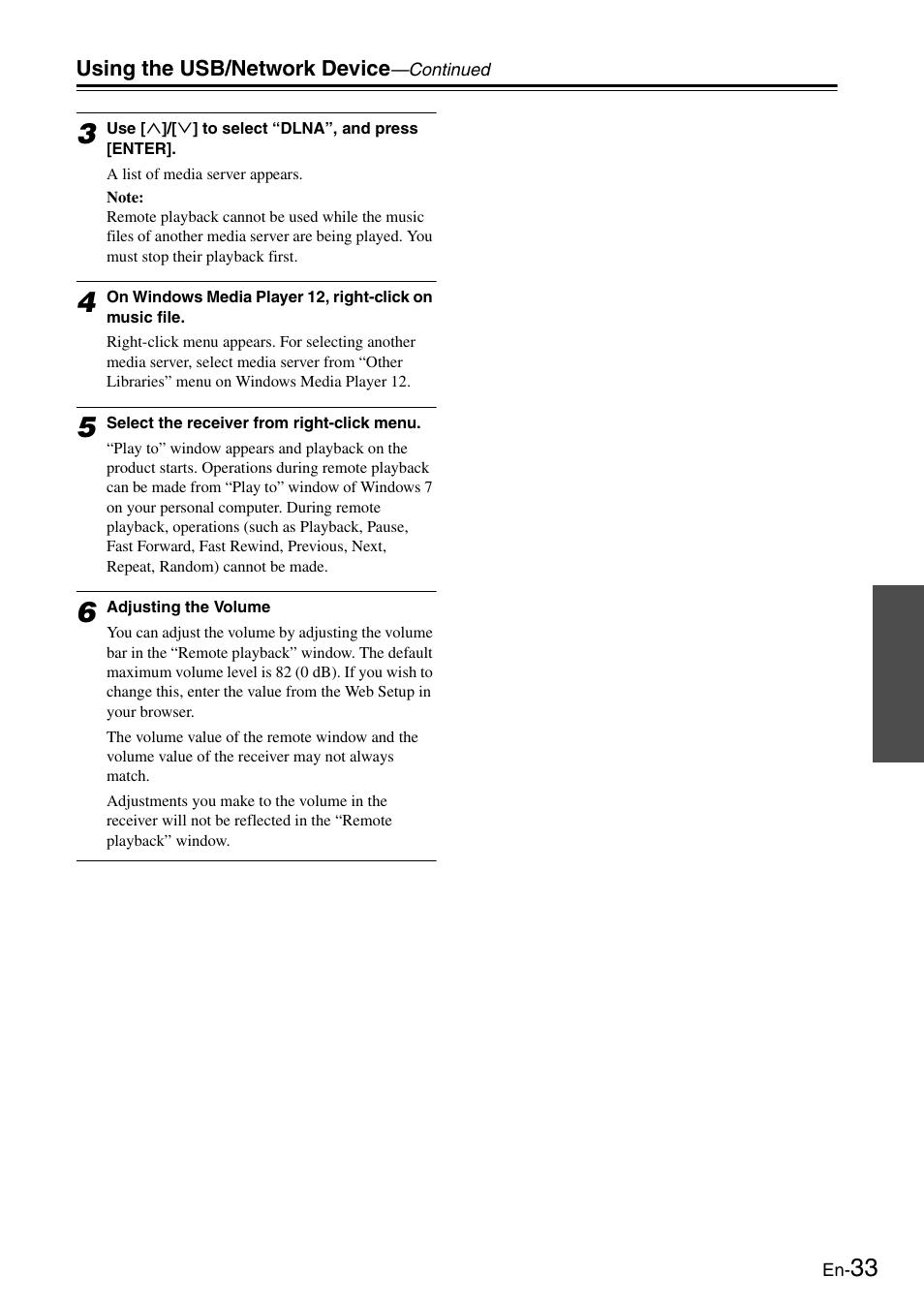 Onkyo Network TX-8050 User Manual | Page 33 / 56 | Original mode