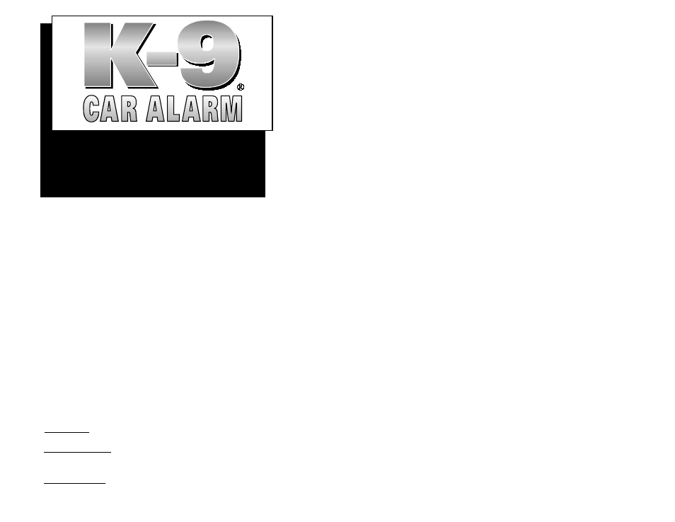 omega vehicle security k9 6atv2 user manual 10 pages rh manualsdir com k9 car alarm manual k9 car alarm sol manual