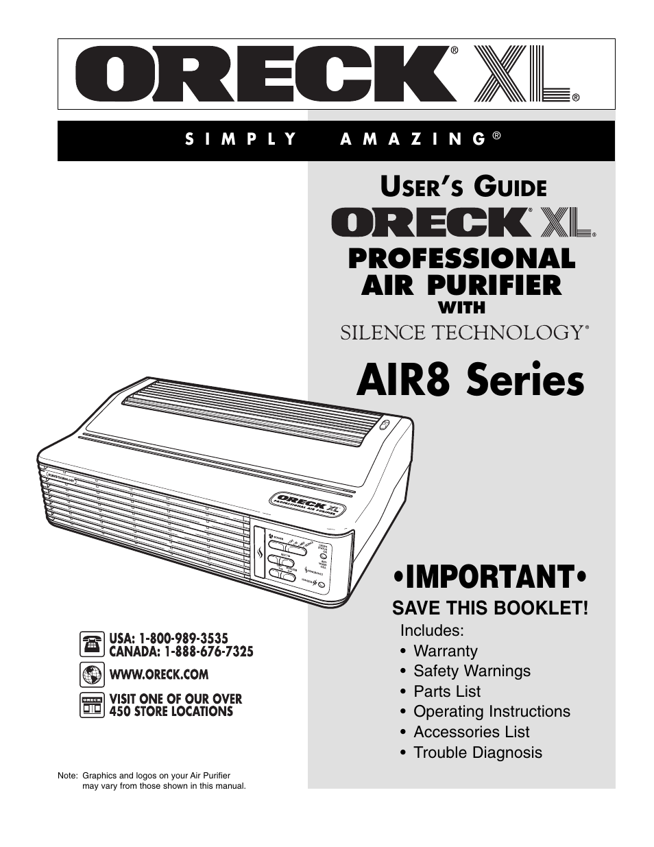 Oreck Xl 2600hh Wiring Diagram 30 Images Vacuum Rrofessional Air Purifier Air8 Series Page1 Diagrams Pdf Trusted