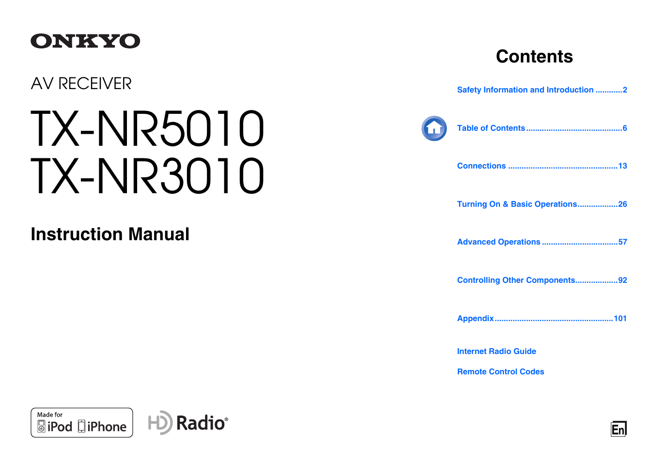 Onkyo tx-nr5010 manual audio video receiver hifi engine.