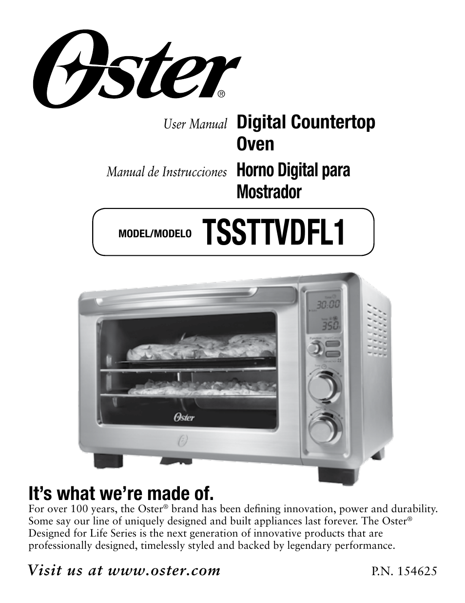oster digital countertop tssttvdfl1 user manual 43 pages rh manualsdir com oster microwave oven manuals oster microwave owners manual
