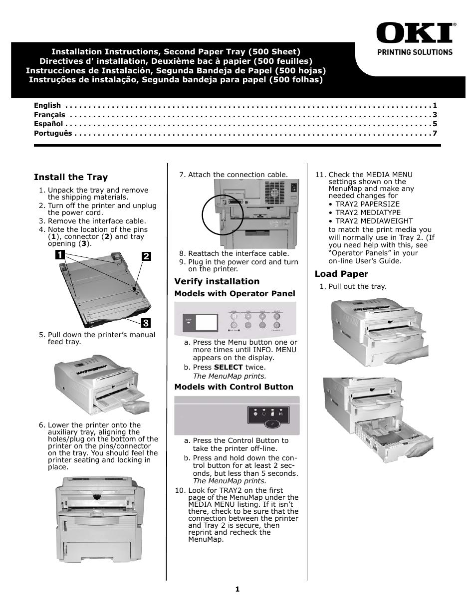 oki b 4600n user manual 8 pages rh manualsdir com oki mc352dn user manual oki user guide