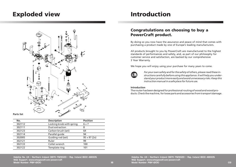 introduction exploded view omega speaker systems power craft rh manualsdir com omega technowash user manual omega_user_manual_v12