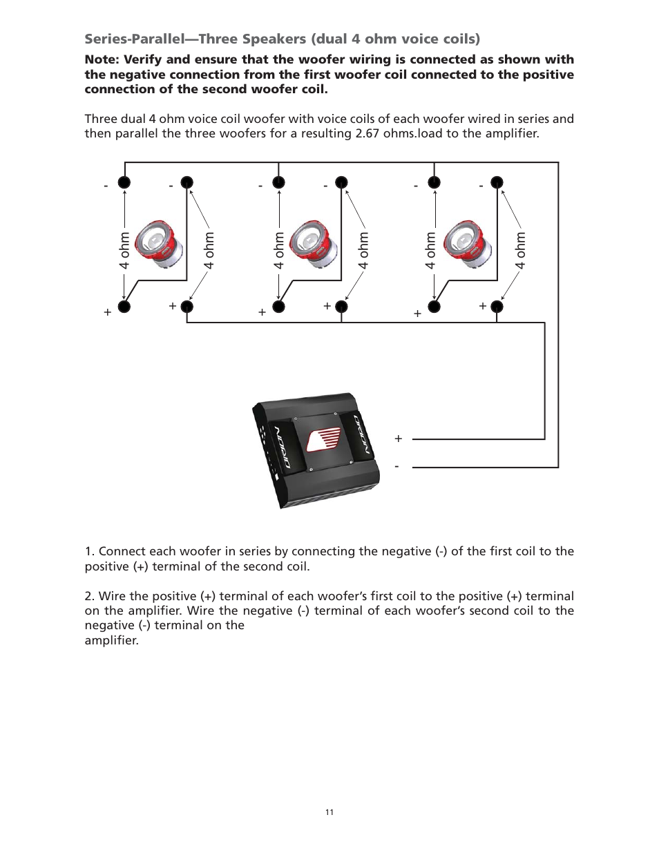 [GJFJ_338]  Orion Car Audio HCCA 15.2 User Manual   Page 11 / 23   Also for: HCCA 12.4,  HCCA 10.2, HCCA 12.2   Orion Hcca 15 Wiring Diagram      Manuals Directory