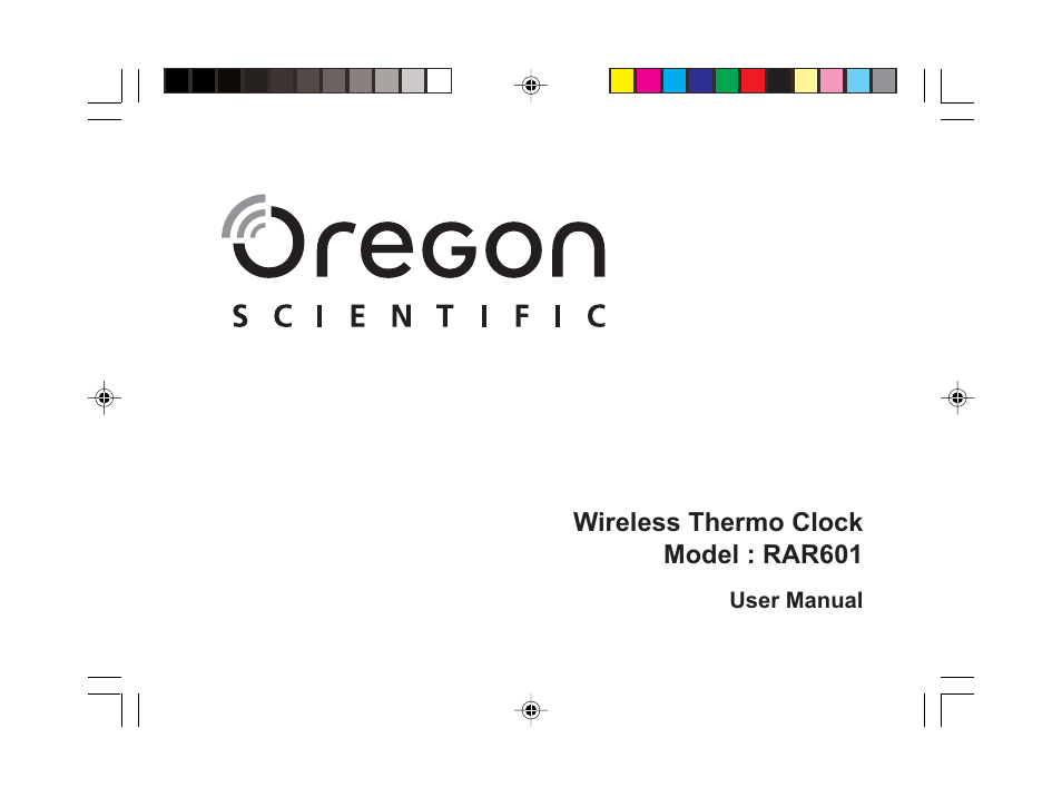 oregon scientific rar601 user manual 15 pages rh manualsdir com Didgital Clock Swedish Clock