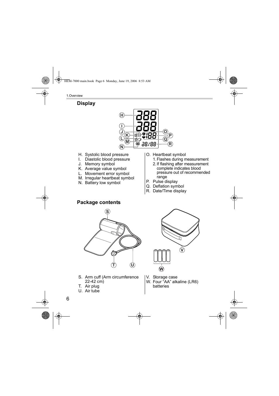 Omron M6 Comfort User Manual Page 6 30