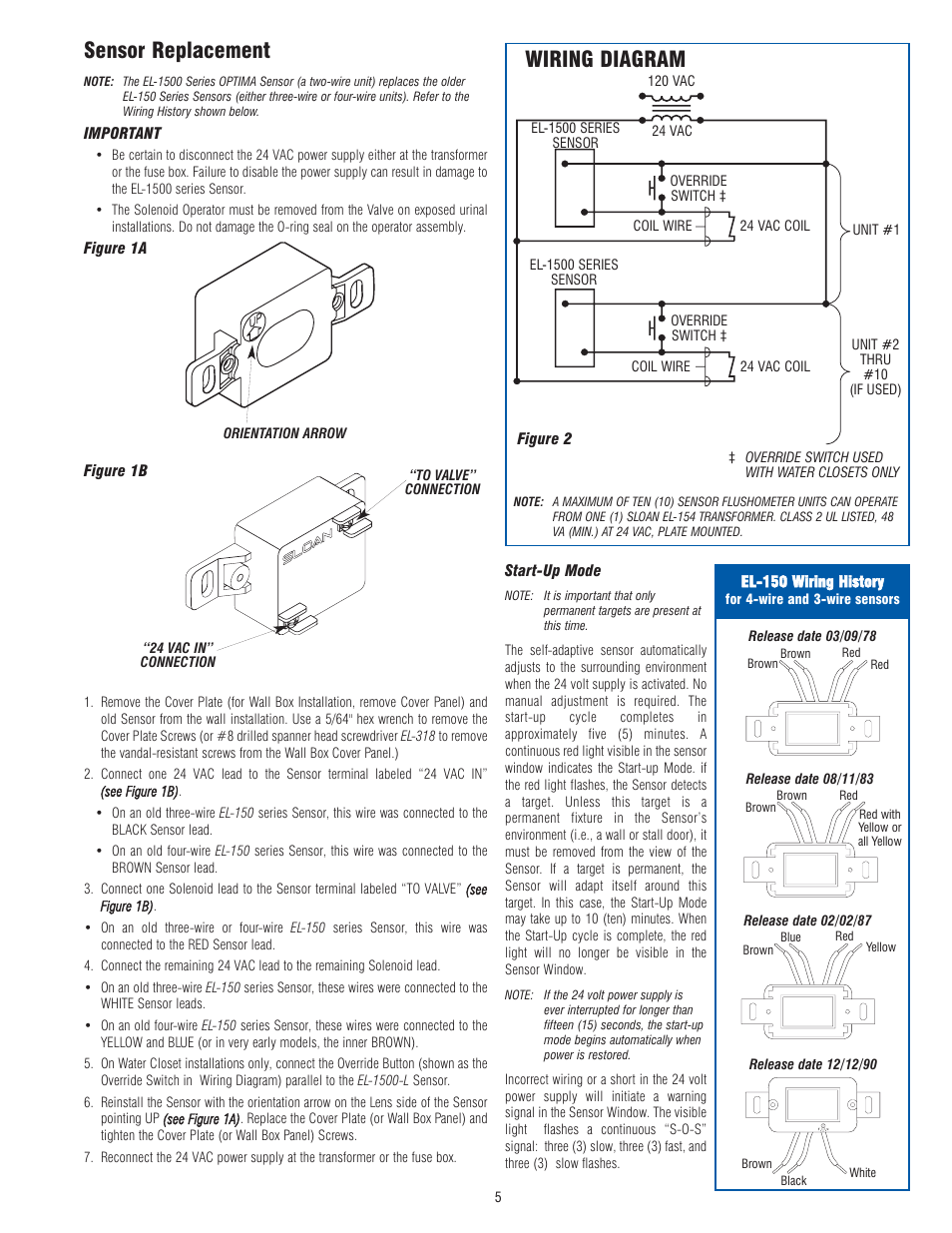 El Wiring Diagram And Schematics Acura 1 6 Sensor Replacement Optima Company 1500 User Manual Page 5