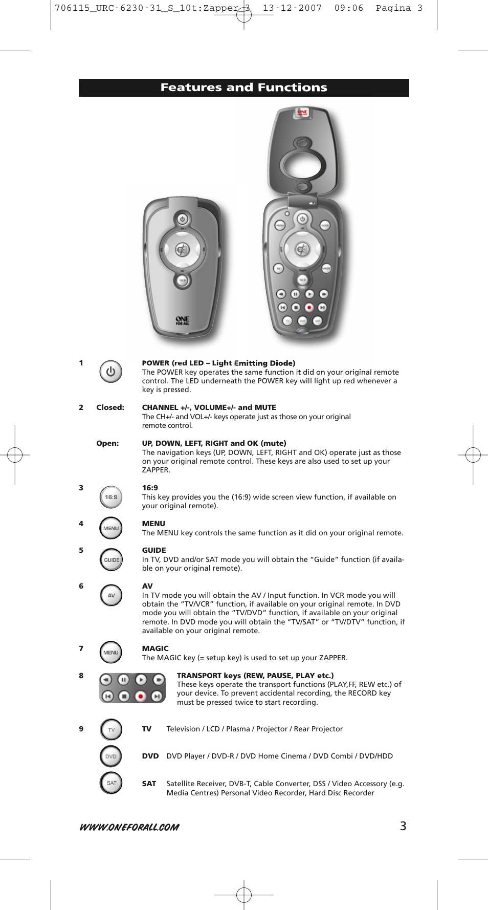 one for all remote urc 11 1625 manual