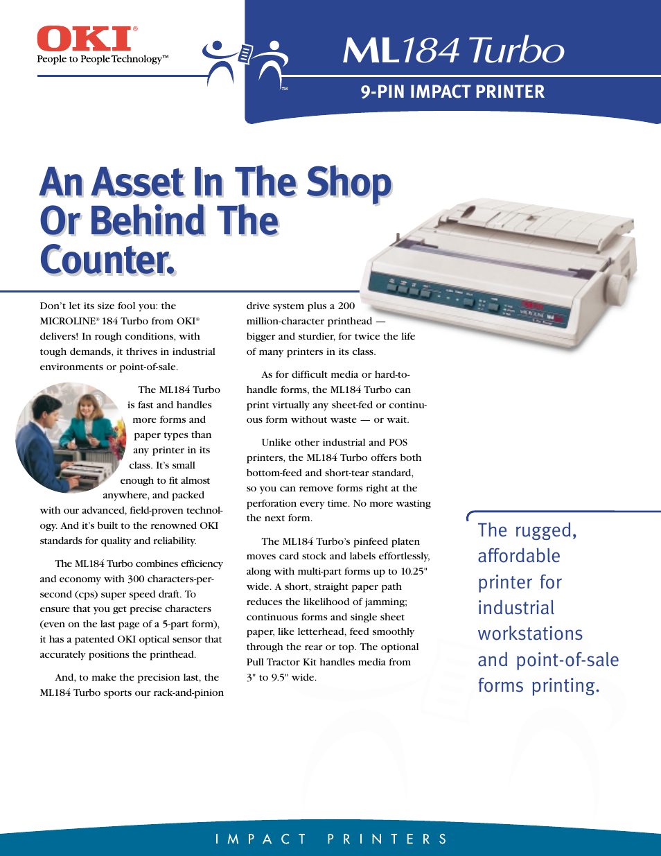 okidata microline 184 turbo printer repair manual
