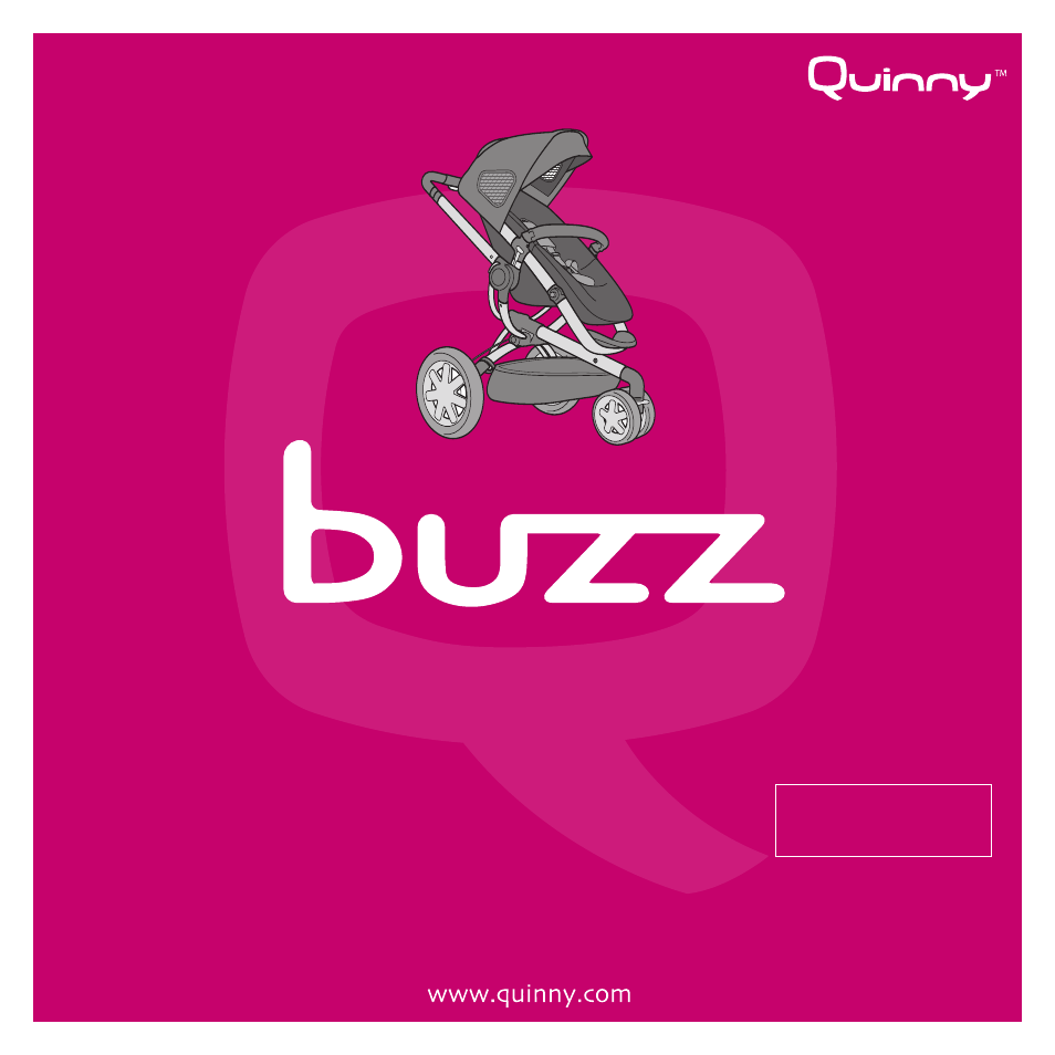 Quinny Buzz Stroller User Manual 21 Pages