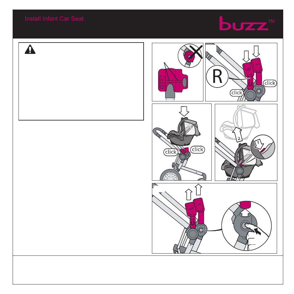 Warning Quinny Buzz Stroller User Manual Page 10 21