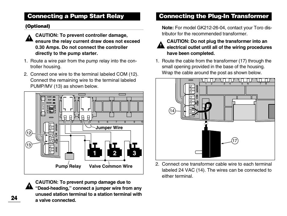 toro sprinkler timer instructions