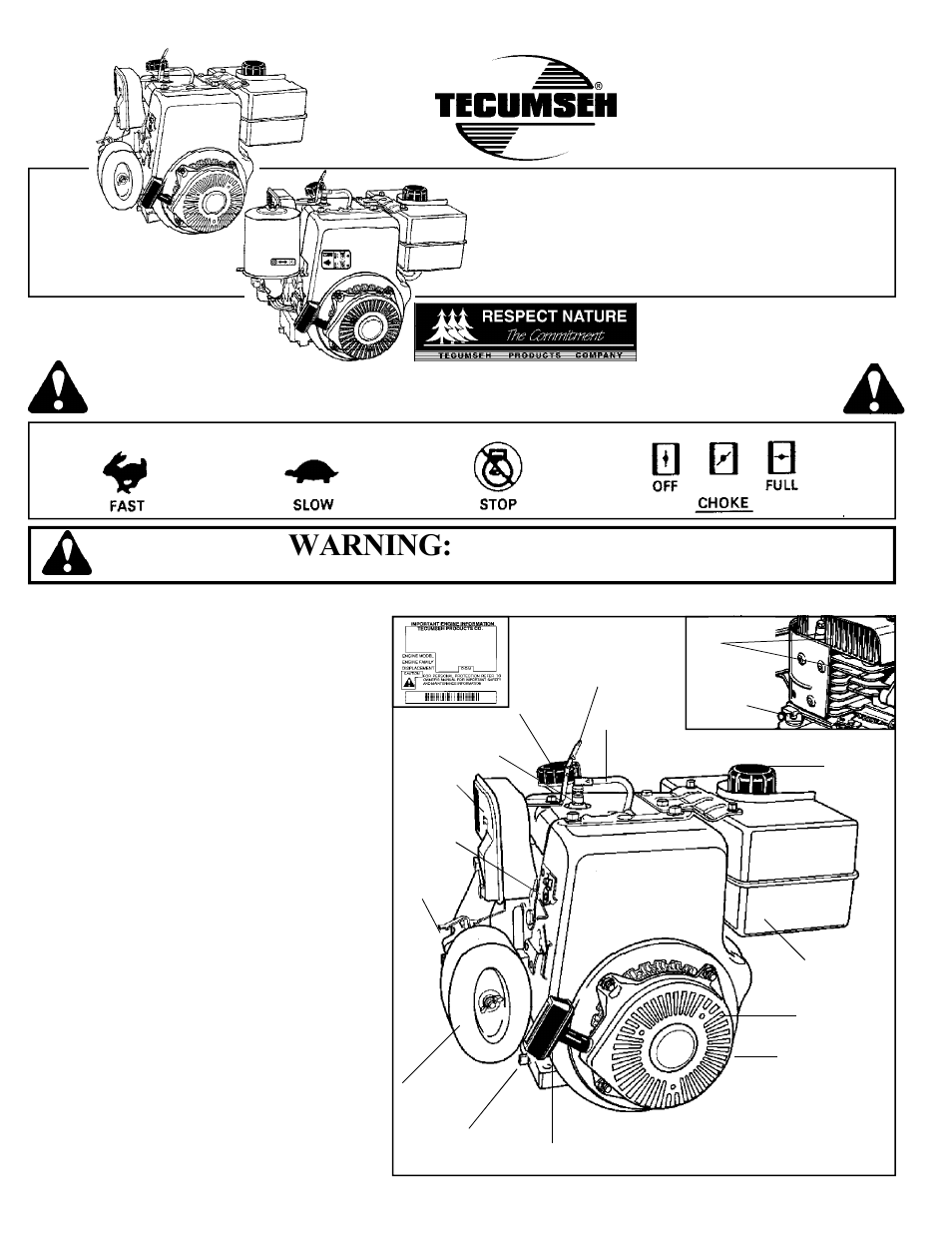 tecumseh hhm80 user manual