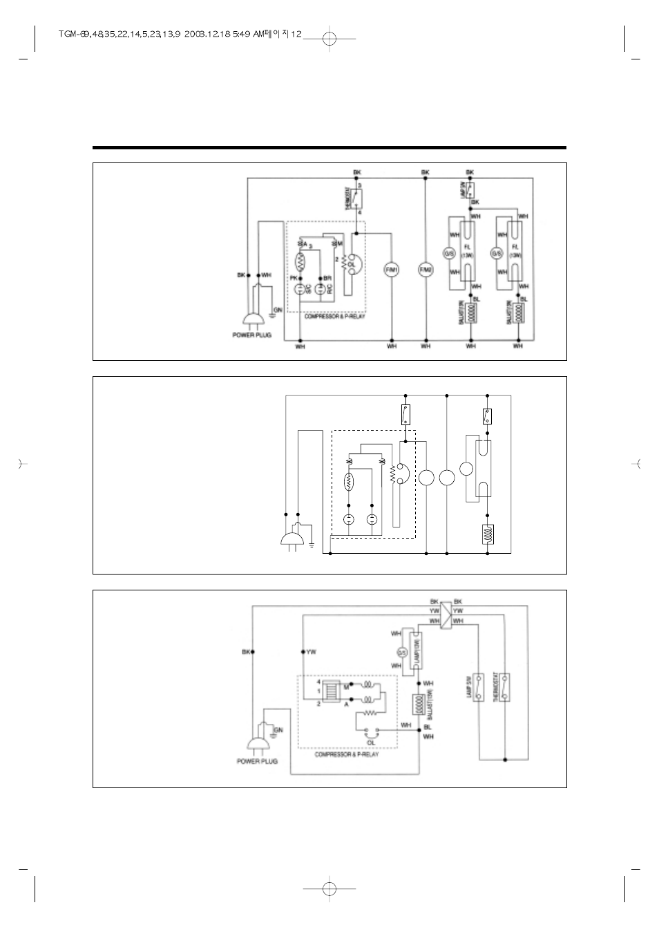 Wiring Diagram Model Tgm 14r 11r 5r Tivo Turbo Air 69r User Manual Page 15 108