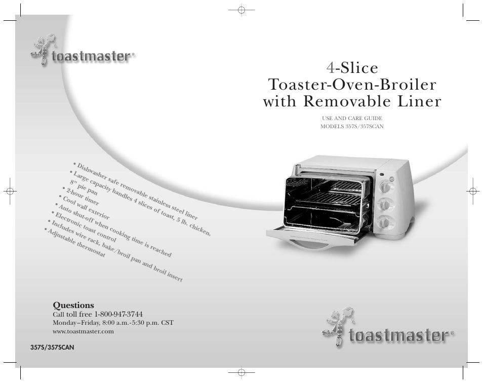 toastmaster 357s 357scan user manual 15 pages rh manualsdir com