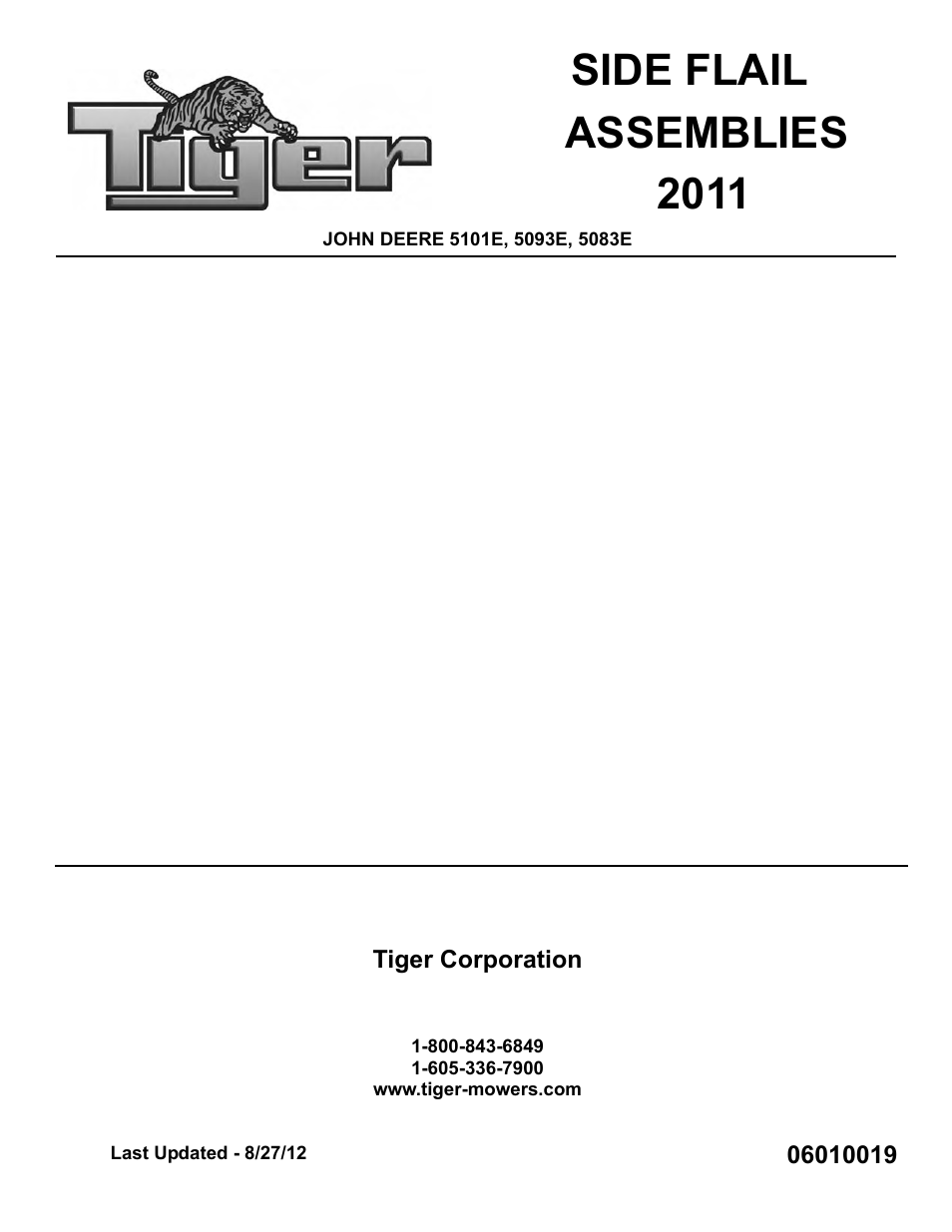 Tiger Products Co., Ltd JOHN DEERE 5101E User Manual | 210 pages | Also  for: JOHN DEERE 5083E