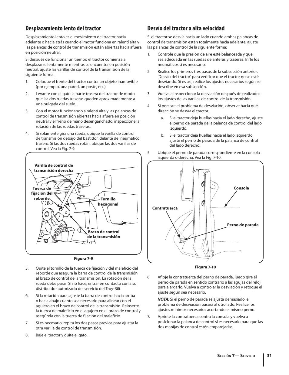 Troy Bilt Mustang Xp 50 Owners Manual