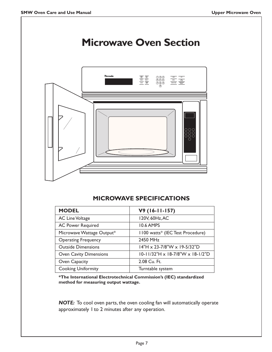 Thermador Smw272 User Manual Manual Guide