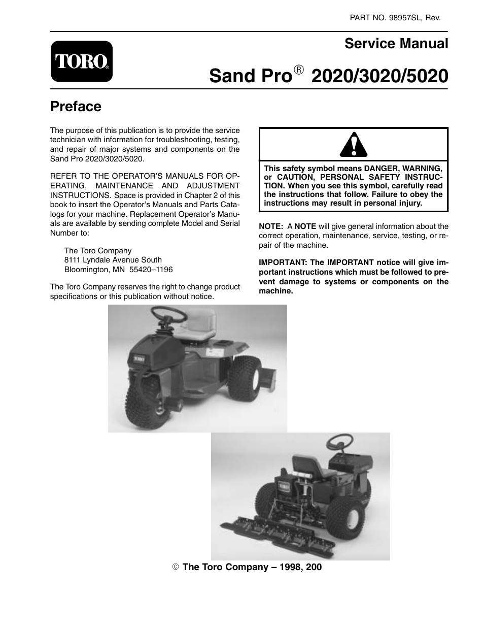 toro sand pro 5020 user manual 170 pages also for sand pro 3020 rh manualsdir com toro owners manual for lawn mowers toro owners manual