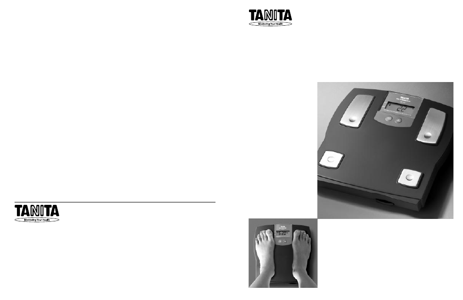tanita tbf 612 user manual 12 pages rh manualsdir com