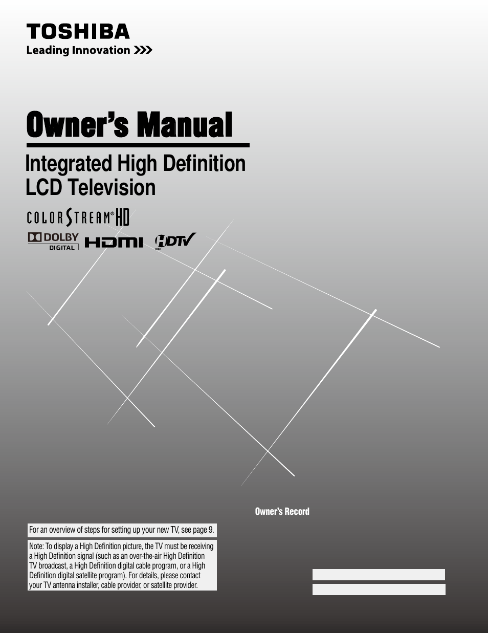 toshiba 37av52u user manual 62 pages rh manualsdir com toshiba model 32av502u manual Toshiba 32AV502U Stand