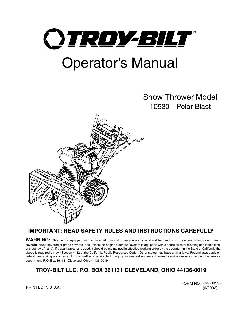 manual polar box