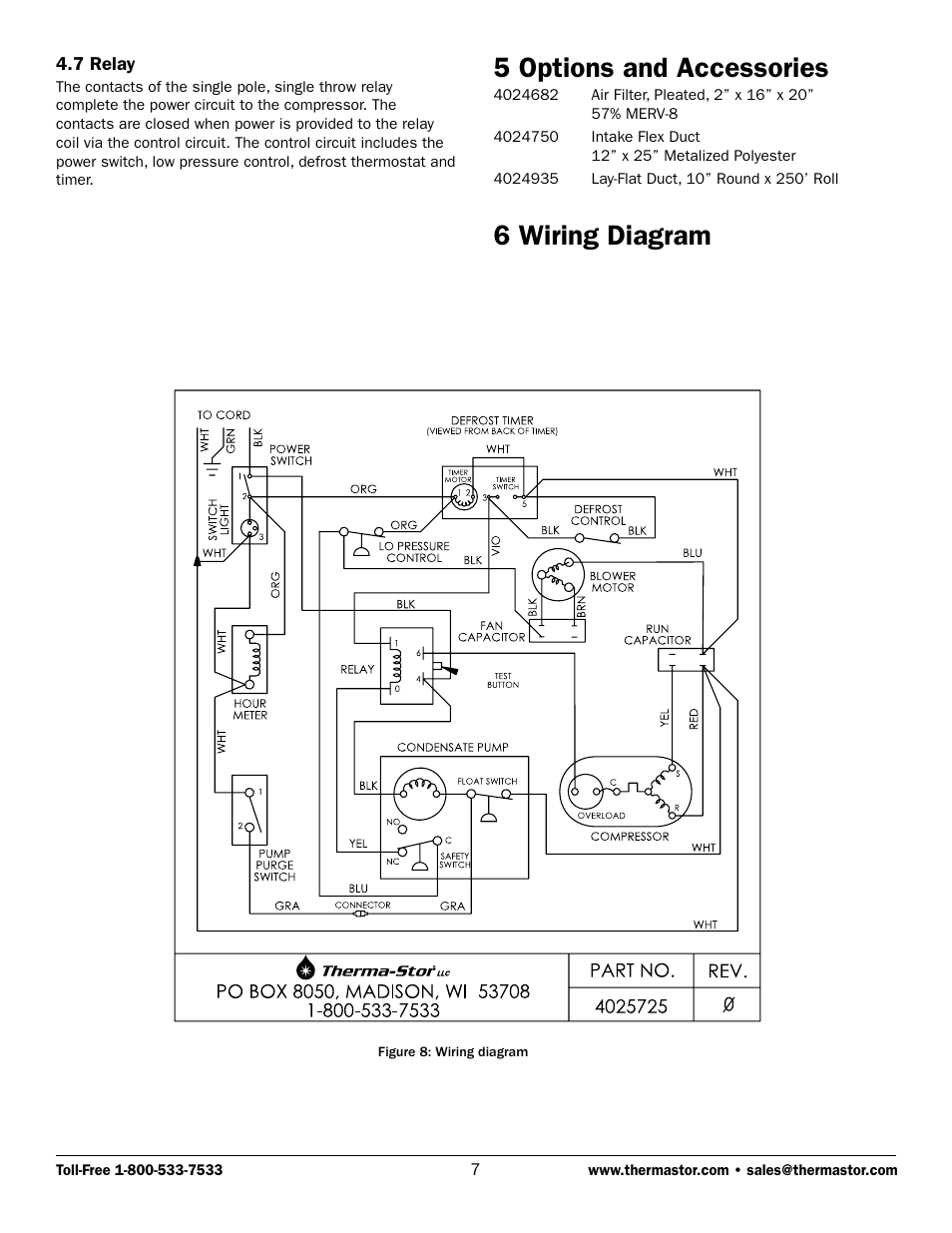 Phoenix Relay Diagram Trusted Wiring Diagrams 5 Options And Accessories 6 Therma Stor Products For Life